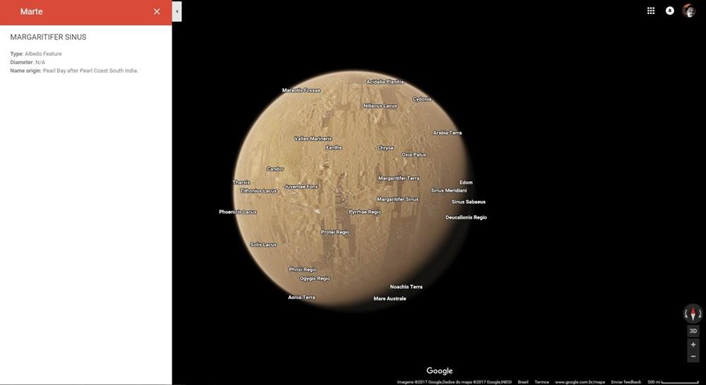 Agora você pode visitar o espaço com o Google Maps