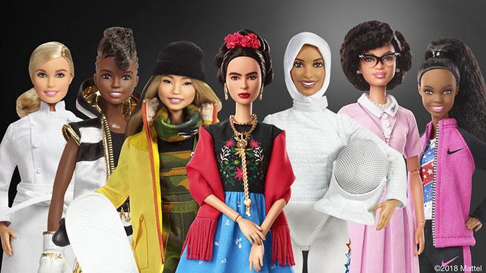 Barbie inova e lança bonecas com mulheres inspiradores
