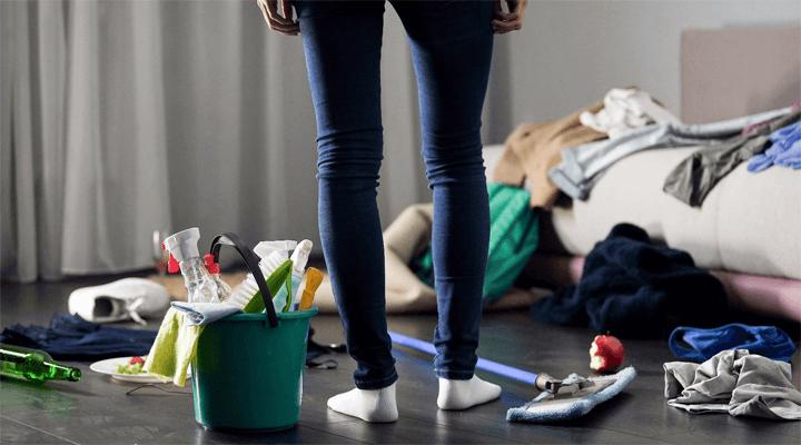 Os 5 lugares mais sujos da sua casa