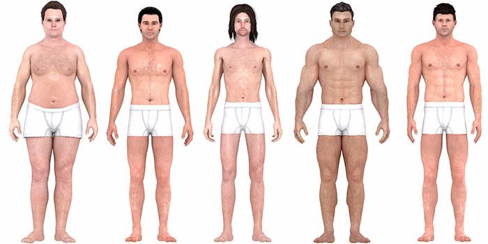 Veja como o corpo ideal masculino evoluiu nos últimos 150 anos