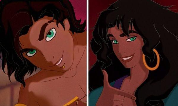 Princesas da Disney na versão masculina