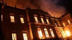 Tragédia: O maior museu da América do Sul virou cinzas!