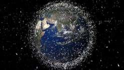 Missão para limpar a orbita da terra começa e conta com um arpão