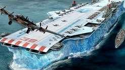 Você sabe da vez que a marinha inglesa fez um navio de gelo?