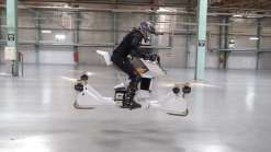 Dubai apresentou motos voadoras para a sua frota policial