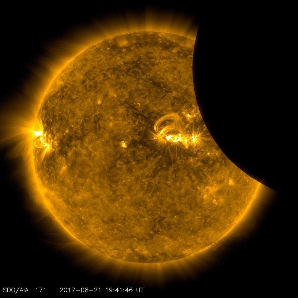 Confira as melhore fotos do Eclipse Solar