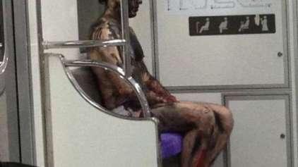10 situações nada comuns encontradas em metrôs pelo mundo