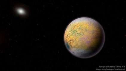 Pesquisa descobre um novo pequeno planeta no sistema solar