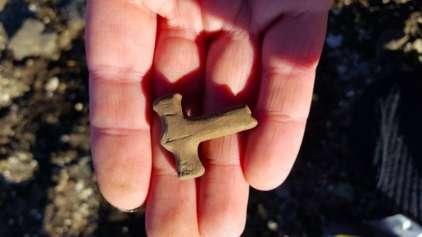 Escavadores descobre o martelo de Thor, ou quase...