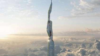 Empresa quer construir prédio com 5km de altura