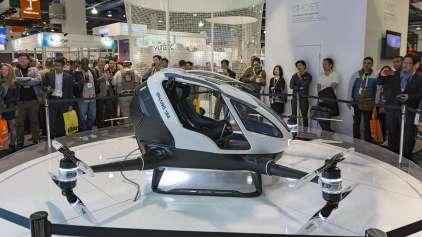 Táxi Voador é anunciado em Dubai