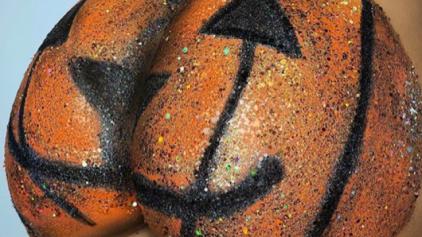 """""""A bunda de abóbora"""" é a bola da vez no Halloween"""