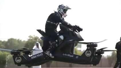 Motos voadoras estão começando a ser vendidas
