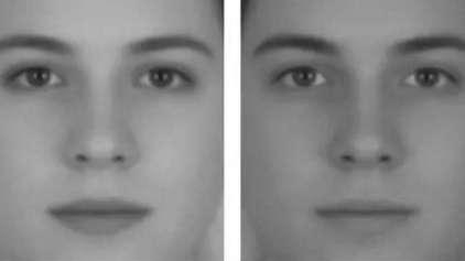 Este rosto é de um homem ou de uma mulher?