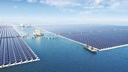 China construiu o maior painel solar do mundo