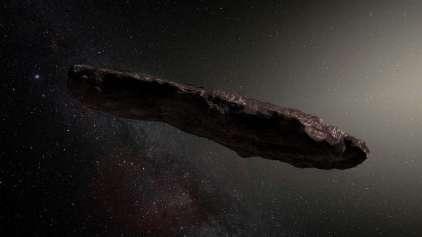 Sera que fomos visitados por uma nave espacial?