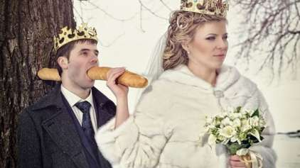 Russos são os melhores na hora de tirar fotos de casamento