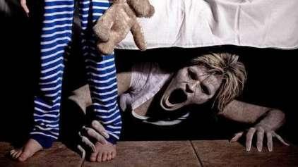 5 coisas mais assustadoras encontradas debaixo da cama