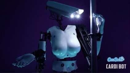 CamSoda usará o primeiro robô stripper do mundo em shows