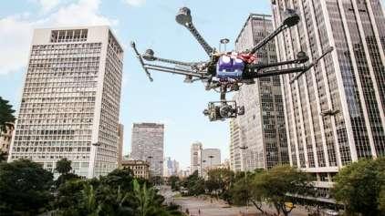 Quadrilha realizava roubos usando Drone espião