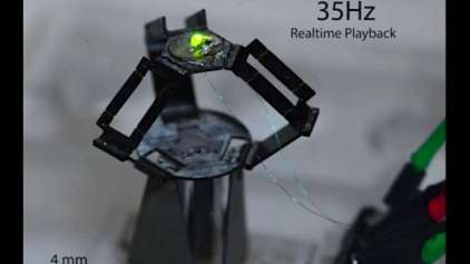 Conheça o milliDelta, um dos robôs mais rápidos do mundo