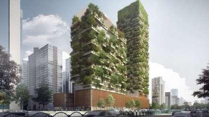 Florestas verticais serão construídas na china em 2018