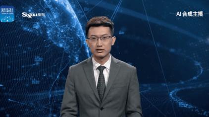 China começa a utilizar âncoras de TV feitos por IA