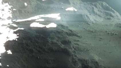 Imagem incrível mostra em detalhes a superfície de um cometa