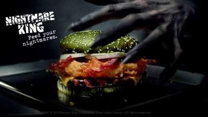 Novo hambúrguer do Burger King promete dar pesadelos