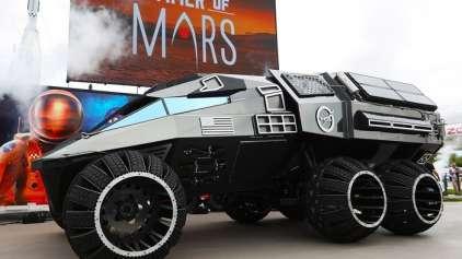 Novo veículo da NASA parece ter sido entregue por Zordon