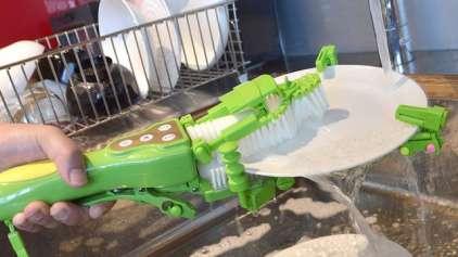 Série Invenções malucas mas úteis: O lavador portátil de louça