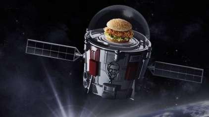 Em junho será o lançamento do primeiro sanduíche astronauta
