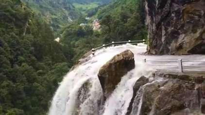A agonizante travessia na estrada mais perigosa do mundo