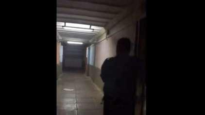 Atividade paranormal gravada em escola brasileira