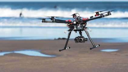 Pela primeira vez, um Drone salva banhistas de se afogarem