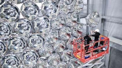 """Cientistas alemães ligam pela primeira vez o """"Sol Artificial"""""""