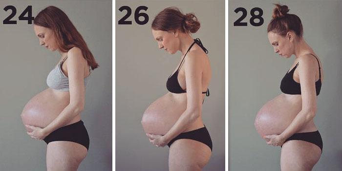 Grávida de trigêmeos prova que o corpo das mulheres é incrível