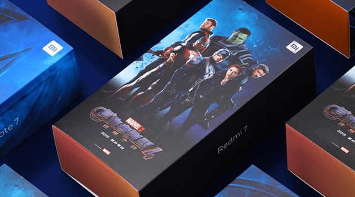 """Redmi lança versão """"Avengers Edition"""" para Redmi 7 e Note 7"""