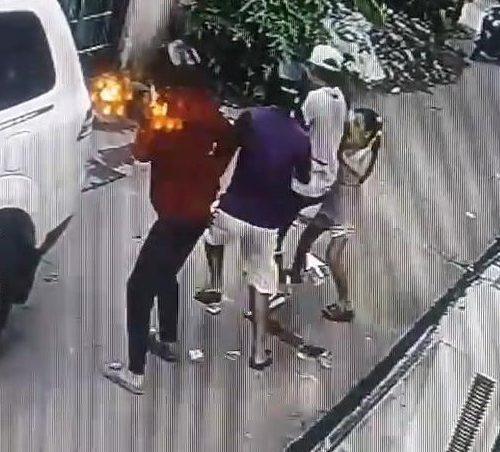 Veja o momento em que garota de 8 anos enfrenta ladrões armados