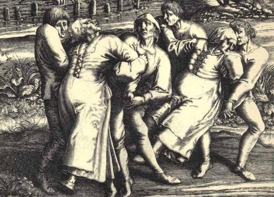 Conheça a história das pessoas que dançaram até a morte