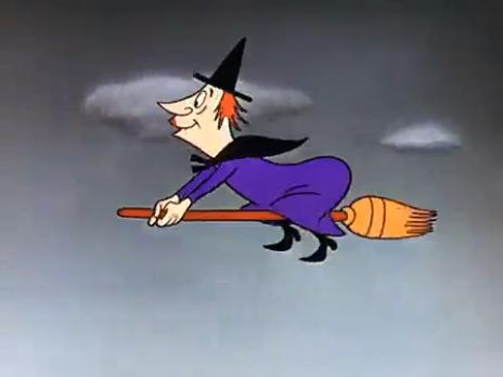 Você sabe porque bruxas são retratas voando em vassouras?