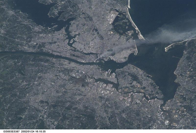 O Americano que viu o atentado de 11 de setembro do espaço