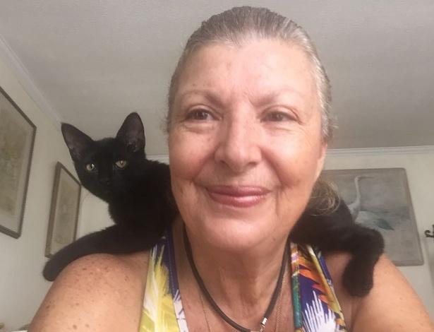 Mulher enfrenta furacão para salvar 26 gatinhos