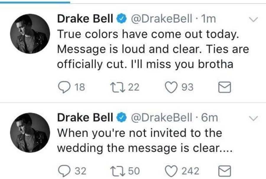 Quem díria. Drake e Josh anunciam o fim da amizade!