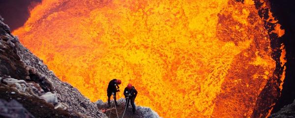 Agora é possível explorar um vulcão no conforto da sua casa!