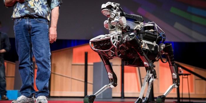 Que tal ter suas encomendas entregues por um cão robô?