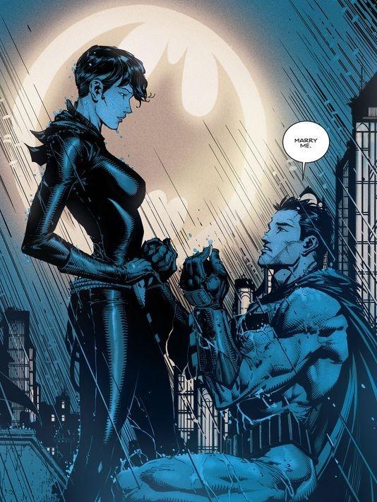 Batman pede mulher gato em casamento, será que rola?
