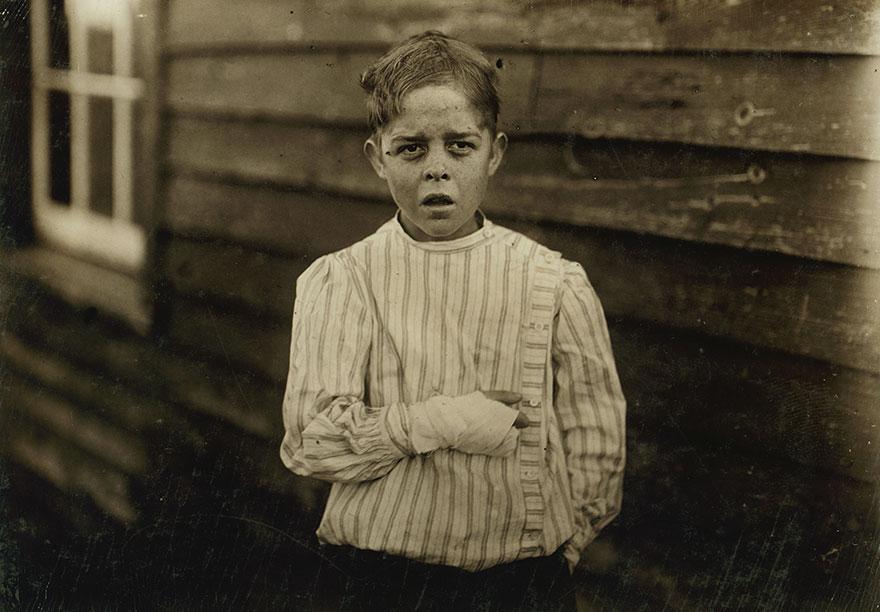 Fotos mostram a realidade antes do fim do trabalho infantil