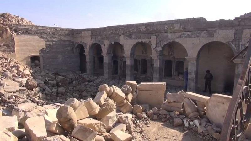 EI explodiu um templo Sírio e acabou revelando anos de história