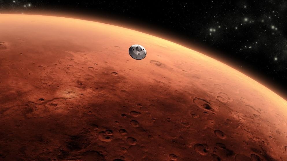 Figura 2. Superfície de Marte. Foto: NASA.